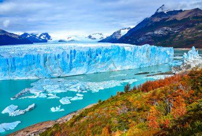 Famous Perito Moreno Glacier in Argentinian Patagonia