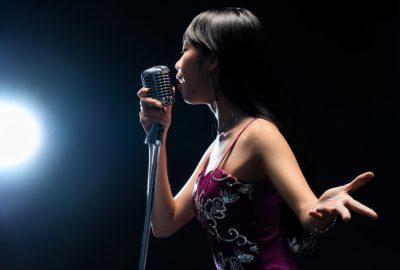 Female singer in Beijing KTV bar