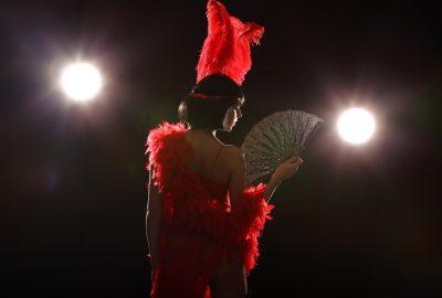 Cabaret show in Monaco striptease club