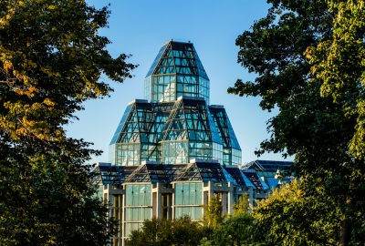 Exterior view of the Great Hall, National Gallery of Canada, Ottawa