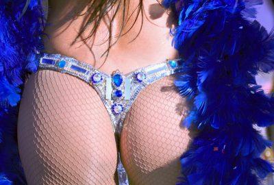 Dancer in Rio de Janeiro striptease club