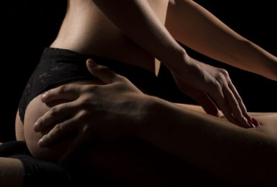 Manchester masseuse performing a teasing erotic massage