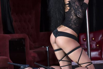 Pole dancer in striptease club in Rotterdam
