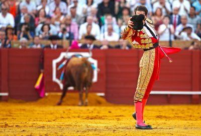 Bullfighting matador in Seville