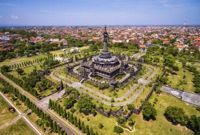 Bajra Sandhi monument in Denpasar