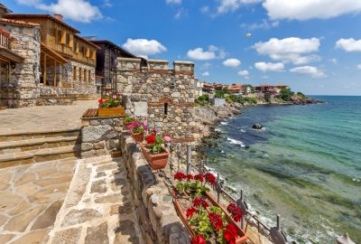 Southern Fortress Wall in Sozopol near Burgas