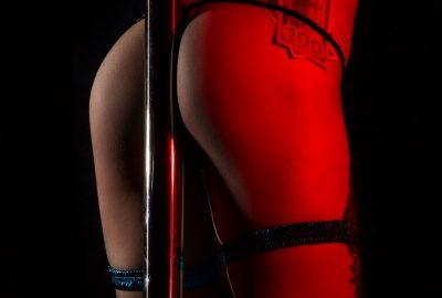 Pole dancer making money in Zagreb striptease club