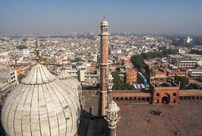 Jama Masjid Mosque in old Delhi